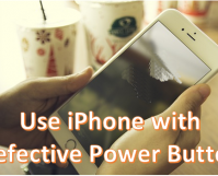 Use iPhone With Defective Power Button