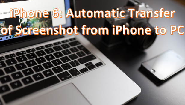 automatically save screenshots from iphone to computer
