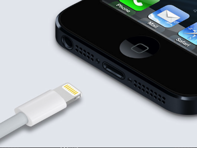 lightning connector to charging port