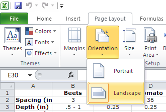 Excel Print on one page landscape