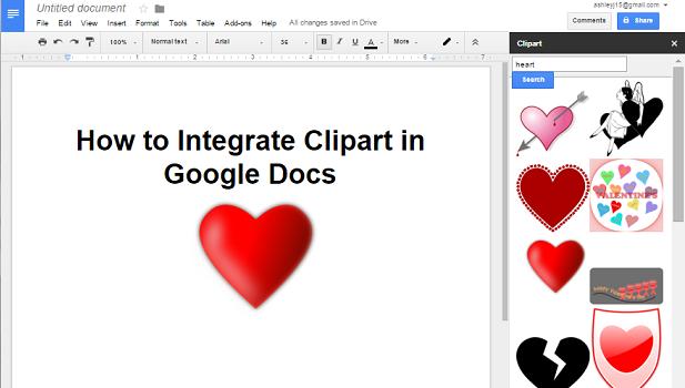 Google Doc clipart