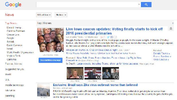 how to get google news feed
