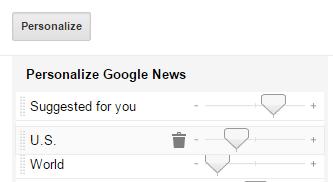 Google news order