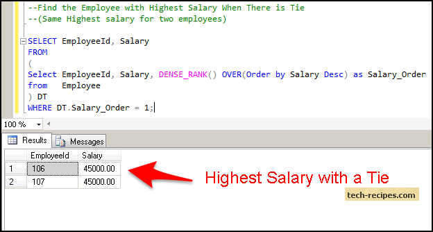 How to Find Highest Salary SQL Server_3