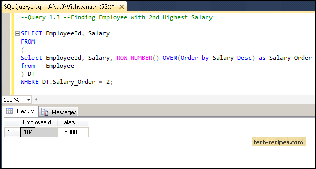How to Find Highest Salary SQL Server_4