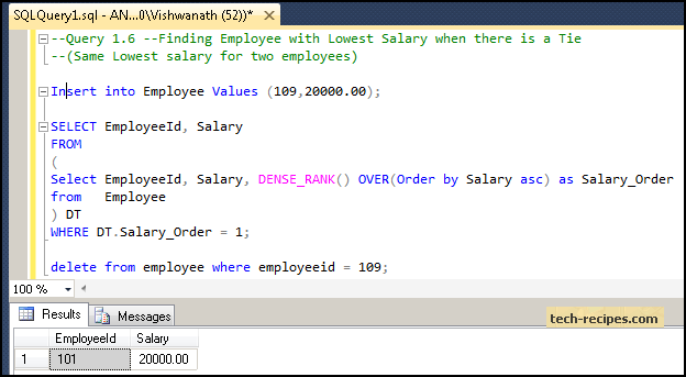 How to Find Highest Salary SQL Server_7