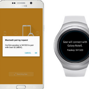 Pair Android and Samsung Gear S2