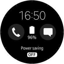 Samsung Gear S2 - Power Saving Home Screen