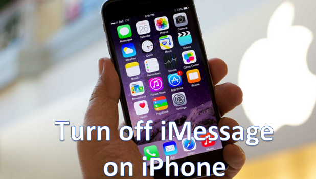 Turn OFF or disable iMessage on iPhone