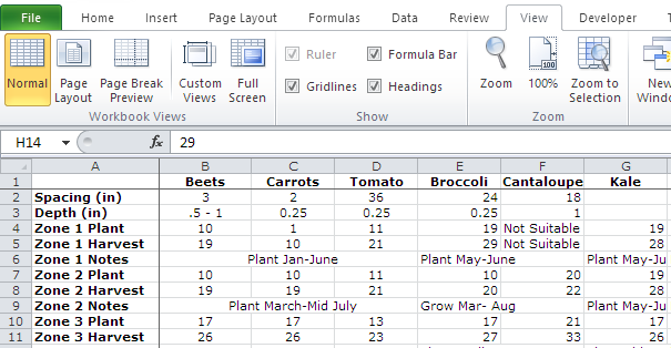 excel freeze row and column