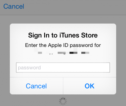 Apple ID password