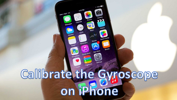 Calibrate Gyroscope Magnetometer Accelerometer on iPhone