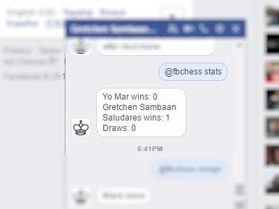 Facebook - Messenger - Play Chess - Stats