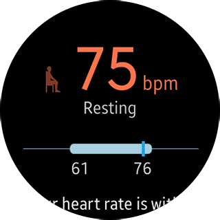 Samsung Gear S2 - Heart Rate button - on going search - is it good for heart
