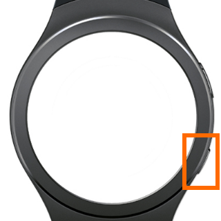 Samsung Gear S2 - Home Key