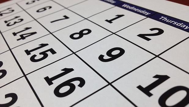 iphone calendar show past events