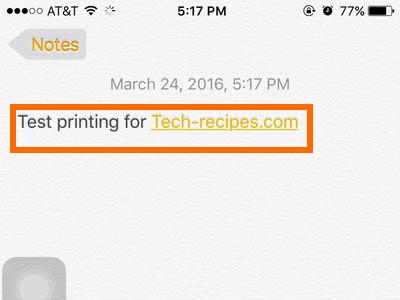 Choose file to print