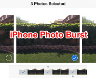 How to Use iPhone Photo Burst