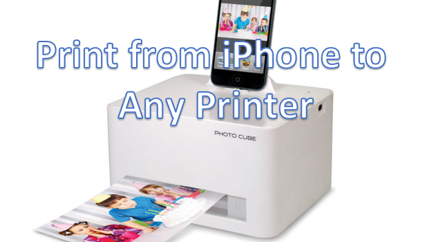 Print from iPHone to Any Computer