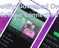 Spotify - Download Over Cellular Data