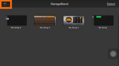 GarageBand - Plus icon