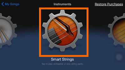 GarageBand - Smart Strings