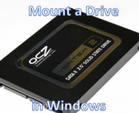 How to Mount a Drive in Windows