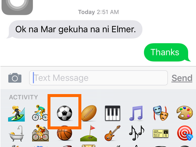 Messenger - Soccer emoticon