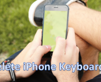 Remove iPhone Keyboard