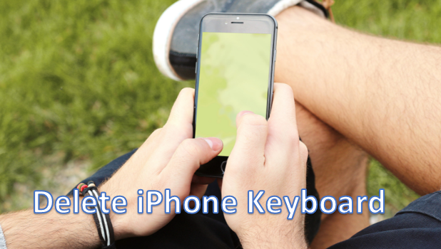 Remove iPhone Keyboard