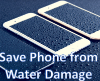 Save Phone from Water Damage