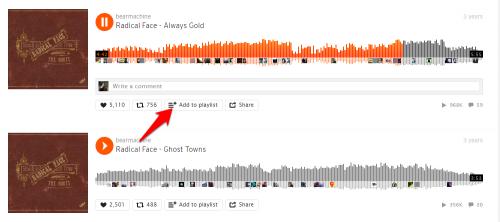How to Create a Soundcloud Playlist