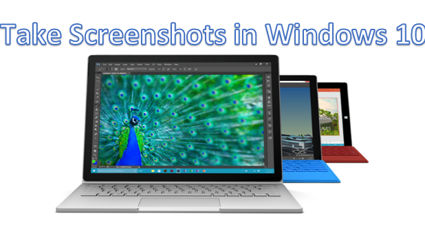 Take Screen Captures in Windows 10