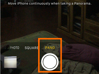 iphone Camera button