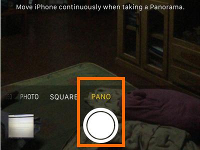 iphone Camera button