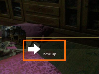 iphone panorama move up