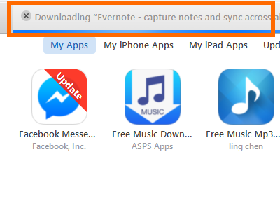 Itunes update apps