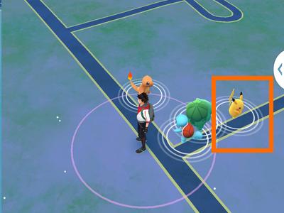 1. POKEMON GO - Pikachu as Starter Pokemon