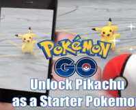1. Unlock Pikachu as a Starter POkemon