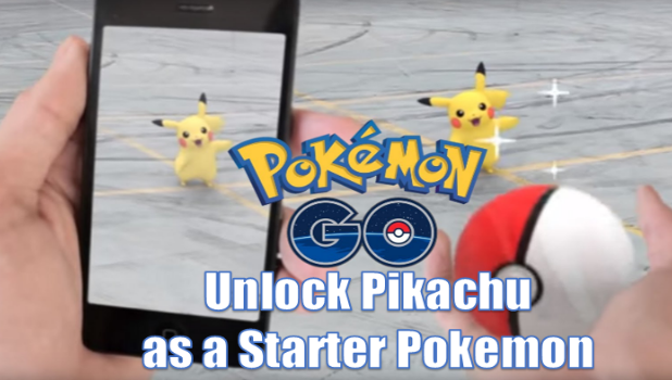1. Unlock Pikachu as a Starter POkemon