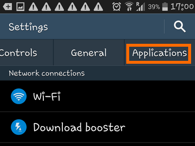 Android Home Apps Settings Applications