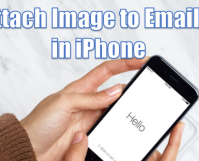 Attach Image to Emails in iPhone