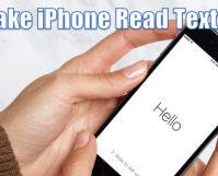 Make iPhone Read Texts