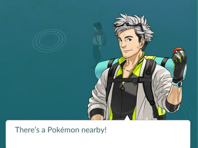 Pokemon Go - Prof Oak