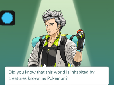 Pokemon Go - Professor Oak