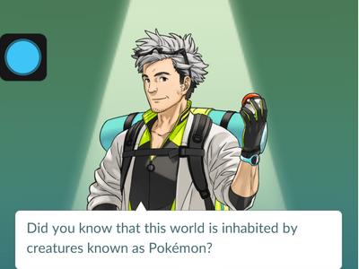 Pokemon Go - Professor Oak