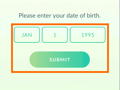 Pokemon Go - birthday