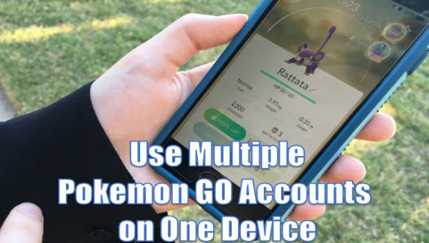 Switch Between Pokemon Go Accounts