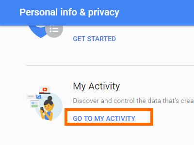 go to my activity