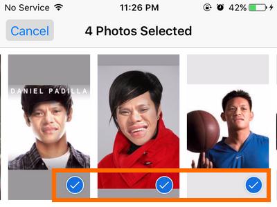 iphone photos - Tap on More Photos